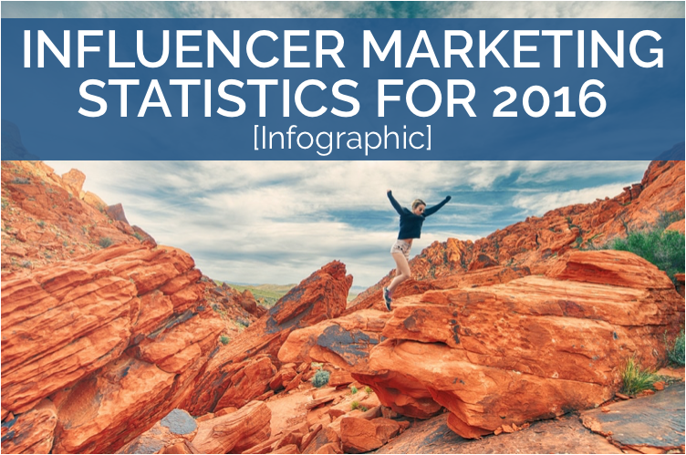 THE TOP 10 BIGGEST INFLUENCER MARKETING STATISTICS FOR 2016