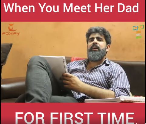 PINDROPMUSIC APP- WHEN YOU MEET HER DAD FOR FIRST TIME